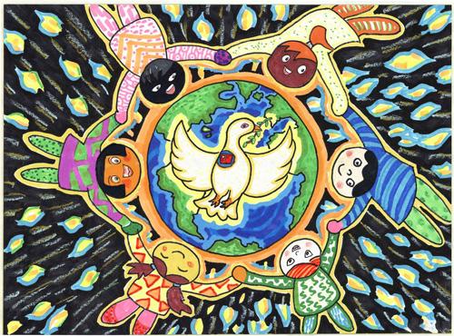 A Boat Symbolizing Peace by Ye Shangke (5)