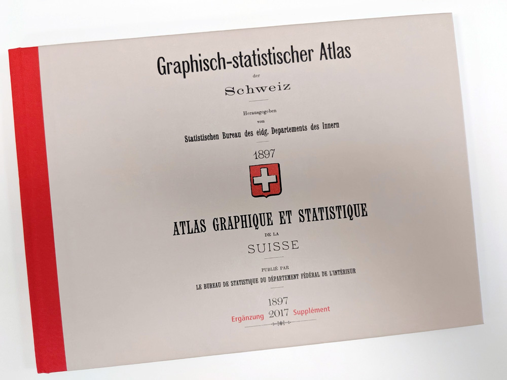 2nd place: Graphical Statistical Atlas of Switzerland 1897-20