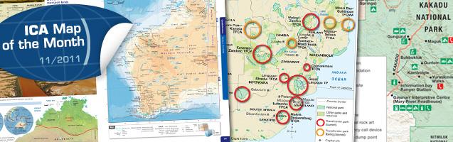 Map Around Australia.November S Map Of The Month Is The Australian School Atlas Jacaranda
