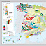Visualization of an atlas page. Geological map