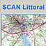 SCAN Littoral chart of the golfe du Morbihan (Brittany)