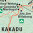 Kakadu National Park. This tourism map of Kakadu National Park highlights the major recreation sites. This was part of a major spread investigating management of the park.