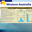 Western Australia. An example spread showing Western Australia. This spread explained the weather patterns that create monsoons.