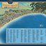 A panoramic map of Sunny Beach, wall map