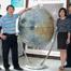 Core members of mapping group: Dc. Ren Xin, Prof. Li Chunlai, Prof. Zuo Wei, Prof. Liu Jianjun, Dc. Mu Lingli