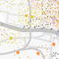Geospatial indicators used to plot Glasgow's smellscape. Layered map.