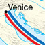 Routes of Nicolo, Maffeo and Marco Polo throughout Asia
