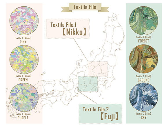 Map of the month 032016 geological textile international geological maps of two of the world heritage sites in japan nikko and fuji gumiabroncs Choice Image