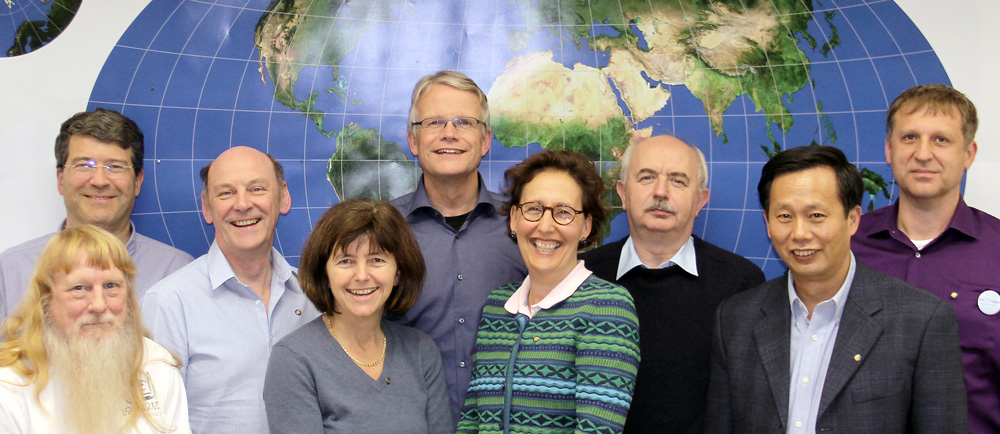 ICA Executive Committee Meeting, Vienna, 9 November 2015: Lynn Usery, Georg Gartner, David Forrest, Monika Sester, Menno-Jan Kraak, Sara Fabrikant, László Zentai, Yaolin Liu and Vít Voženílek. Missing: Pilar Sánchez-Ortiz Rodríguez