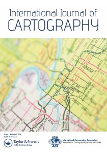 Cover of the International Journal of Cartography
