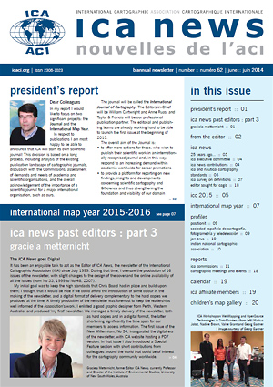 ICA News, Number 62, June 2014