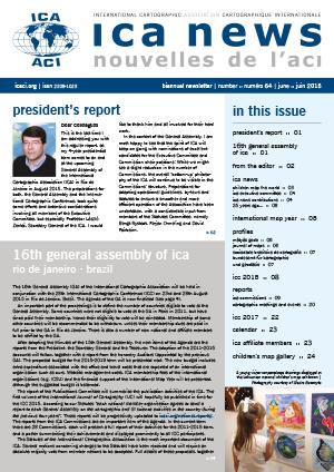 ICA News, Number 64, June 2015