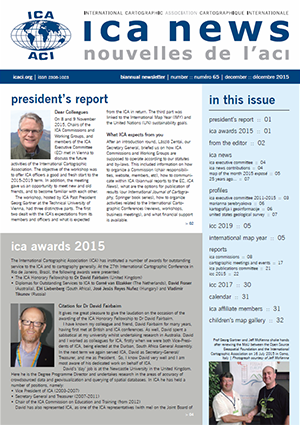 ICA News, Number 65, December 2015