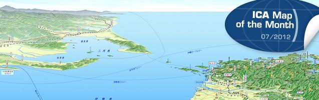 Kii-Kinki 360° panorama map