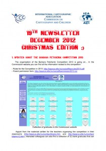 Cover of the Newsletter 12/2012