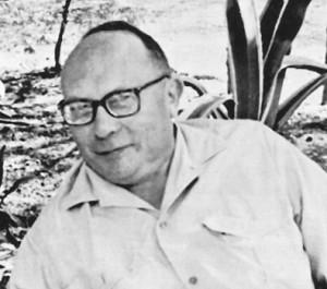 Jacques Bertin in 1971