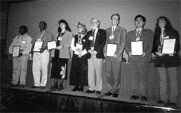 Left to right: A Mwanza, P Ogao, T Bandrova, R Darvishzadeh, M Wood, M Nyrtsov, Y Zhao, R Platina