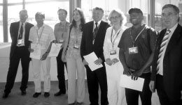 ICA Travel Awardees and members of the Executive Committee