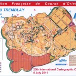 Map course A