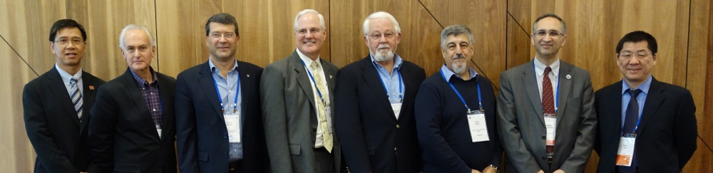 Members of the Joint Board of Geospatial Information Societies in 2012