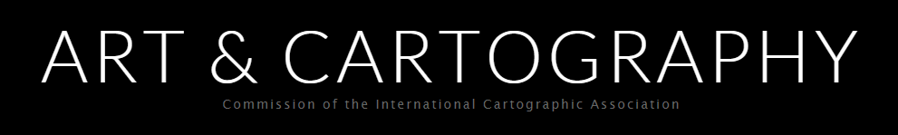 Logo of the ICA Commission on Art & Cartography