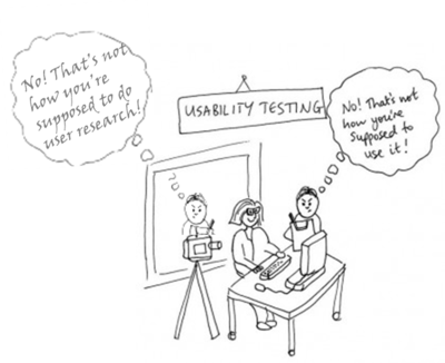 Come to the usability workshop to learn how it is supposed to be done ;-)