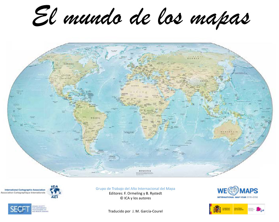 Presidents Blog The World Of Maps Now Available In Spanish - Pictures of maps