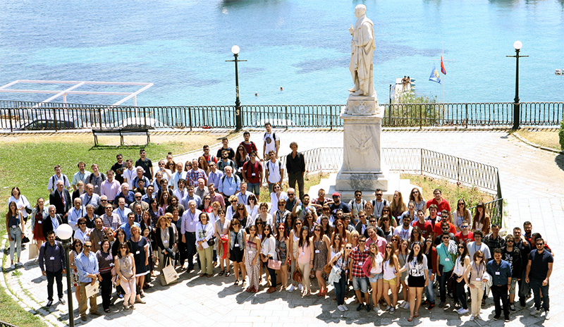 The participants of the Corfu 2015 Cartoheritage Conference