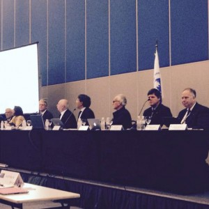 Impression from the first part of the general assembly. Photo by @mappingcenter