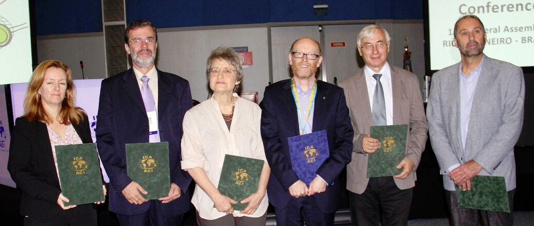 Recipients of ICA Awards at ICC2015