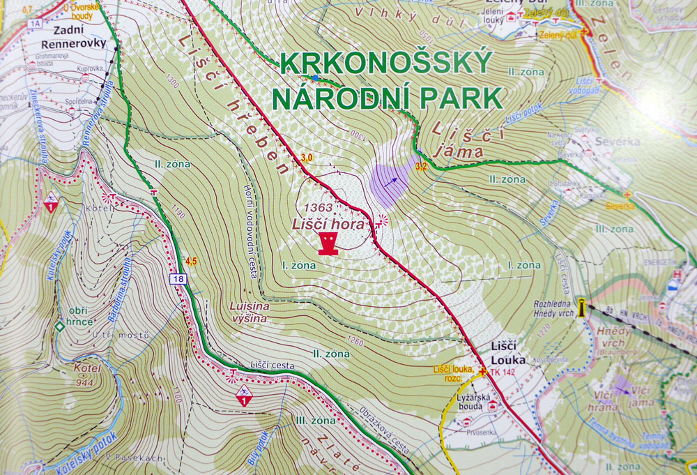 Educational products, 1st place: Enjoy the map – Krkonoše Mountains (Czech Republic)