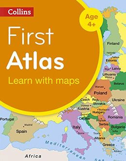 Educational Products, 3rd place: Collins First Atlas (UK)