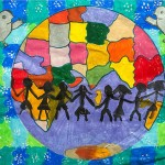 3rd: Ruwindya Indraratne (5), Sri Lanka – We'll fix the pieces to bring peace