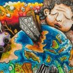2nd: Adristi Hita Andani (8), Indonesia – Our Earth and Pollutions