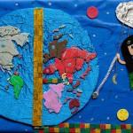 1st: Alexandra Papadopoulou, Maria Katopodi, Christina Louko (12), Greece – My place in today's world through my own vision