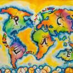 3rd: Ada Maria Ciontu (11), Romania – Building bridges of peace across the world