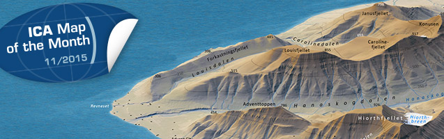 3D Map Longyearbyen and environs