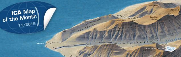 3D Map Longyearbyen and environs