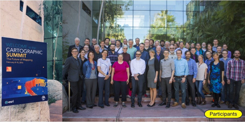 Participants of the Cartographic Summit 2016