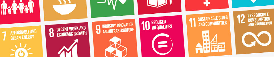 View our poster series as a contribution to the Sustainable Development Goals