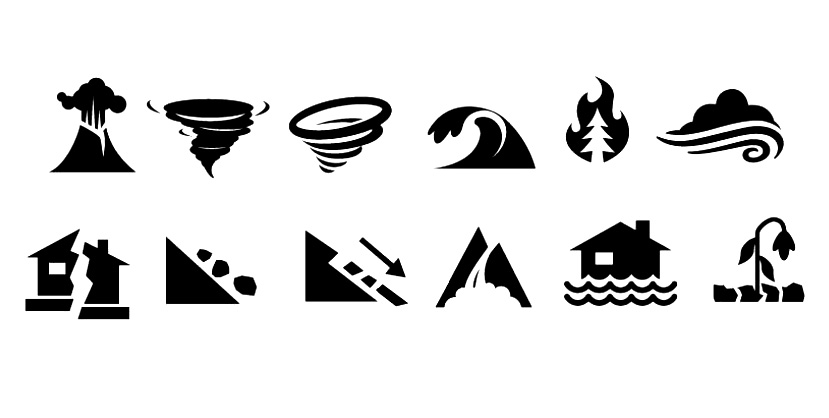 Natural Disaster Fonts