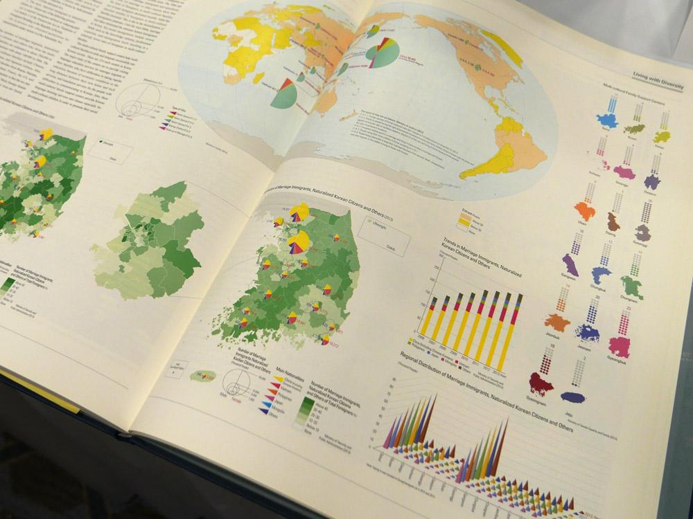 1st place: The National Atlas of Korea I (Republic of Korea)