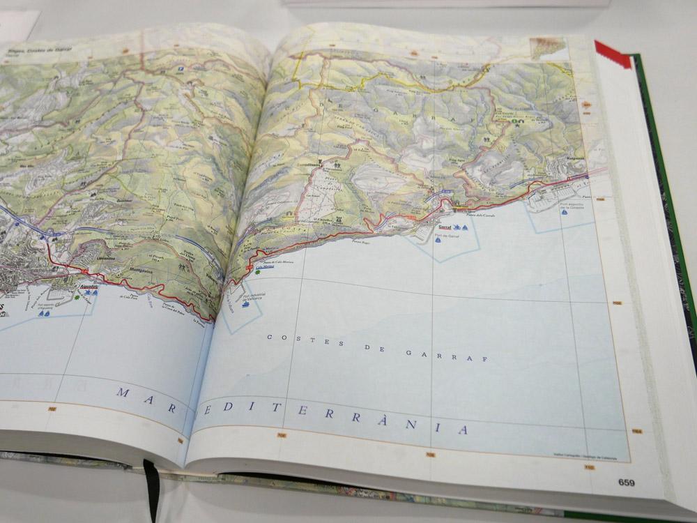 3rd: Grand Topographic Atlas of Catalonia 1:25,000 (Institut Cartografic i Geologic de Catalunya)