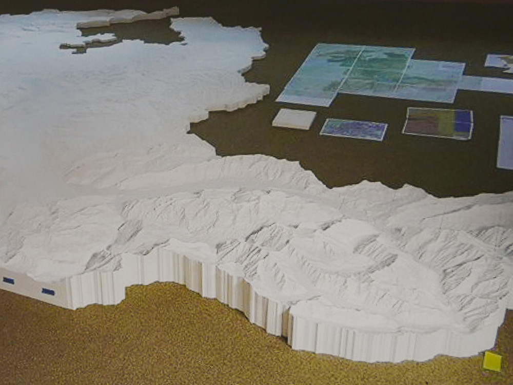 3rd place: Canton Berne – 3D printed Terrain Model, 1:25,000 (Switzerland)