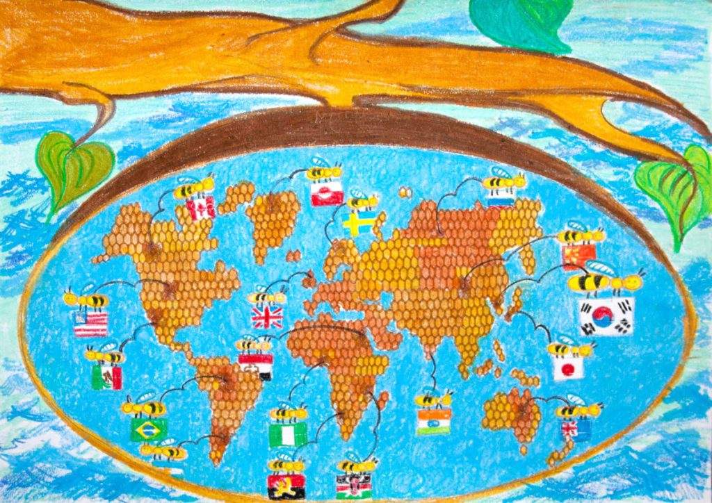 Map, Communicate with the world by Oh Eun Ju (8)