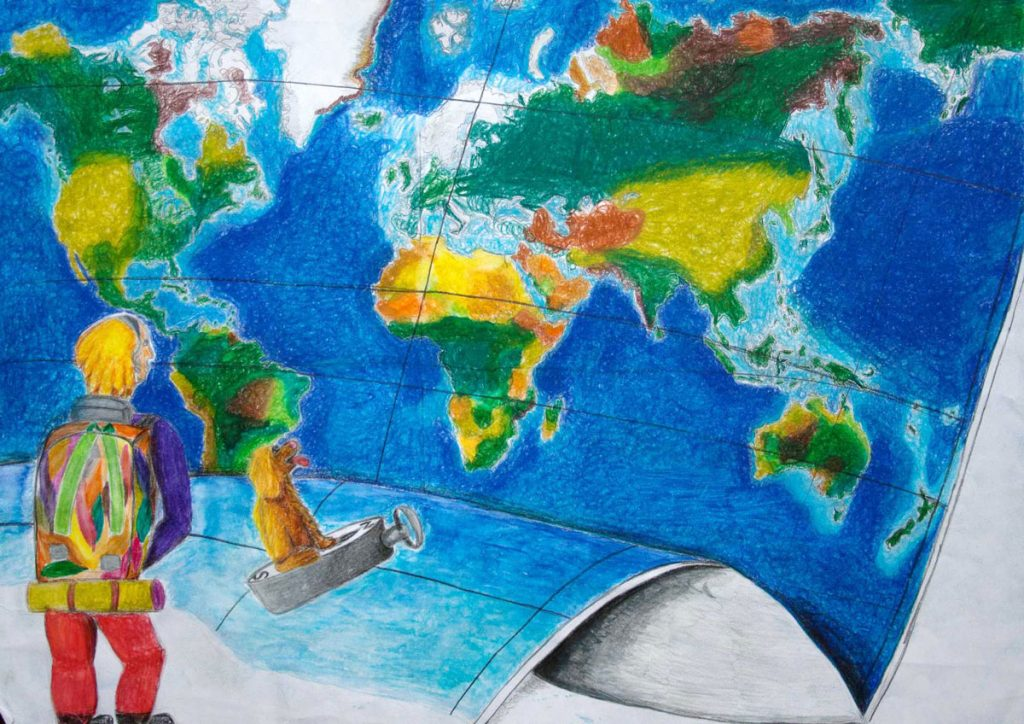World Map by Micaela Mendoz (15)