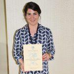 ICA scholarship winner Katrin Glinka