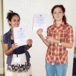 ICA scholarship winners Julia Mia Stirnemann Javiera Advis