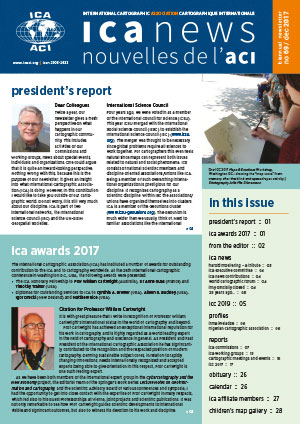 ICA News, Number 69, December 2017