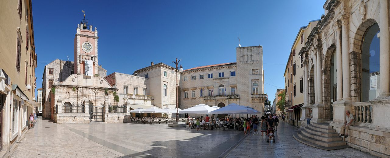Zadar, Croatia. Photo by Böhringer Friedrich via Wikimedia, CC BY-SA 2.5.